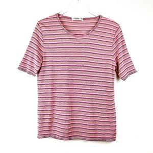 Missoni Sport Multi Stripe Womans Knit Top